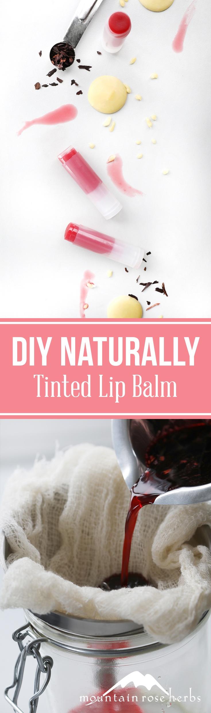DIY Naturally Tinted Lip Balm Pin