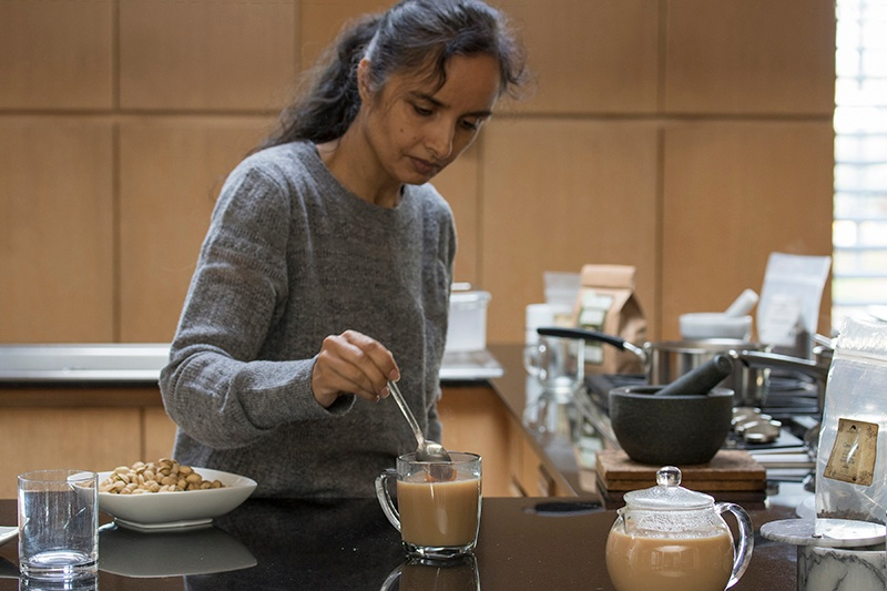 Making Chai Tea at Home