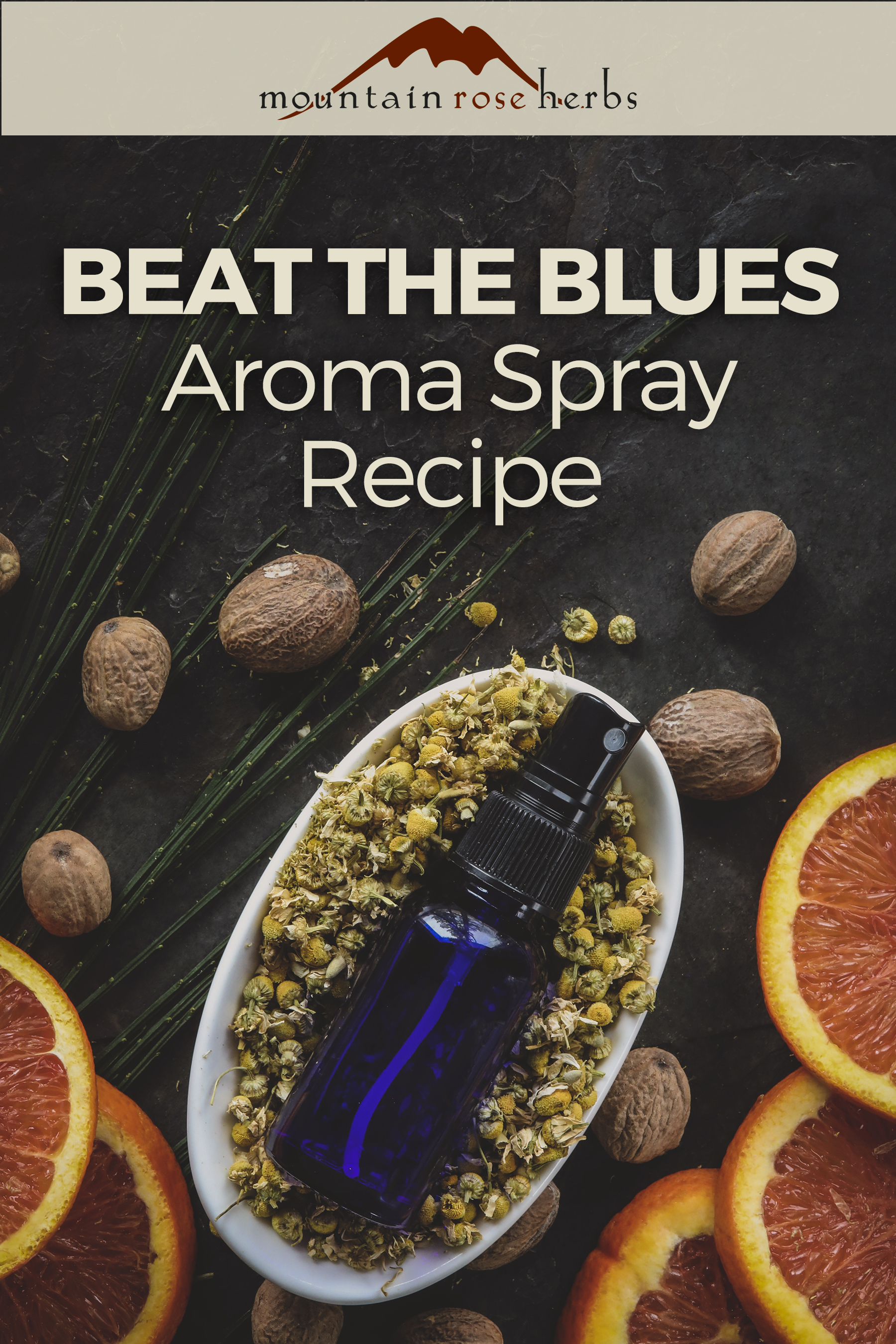 Pinterest: Beat the Blues Aroma Spray
