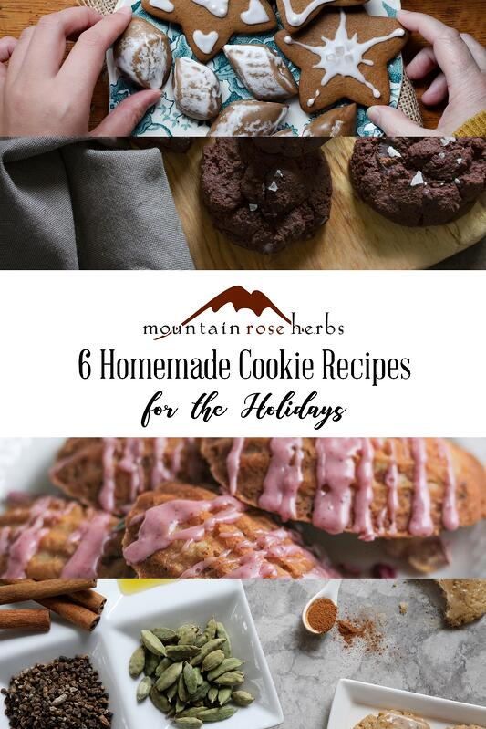 Pin to 6 Homemade Cookie Recipes for the Holidays.