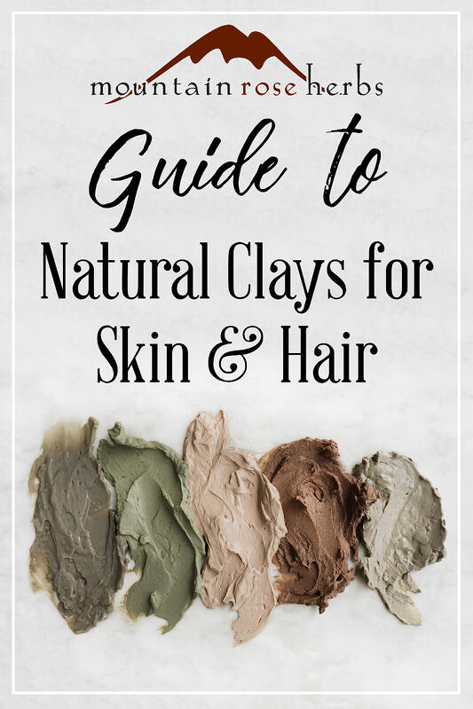 Pin to Guide to Natural Clays for Skin and Hair