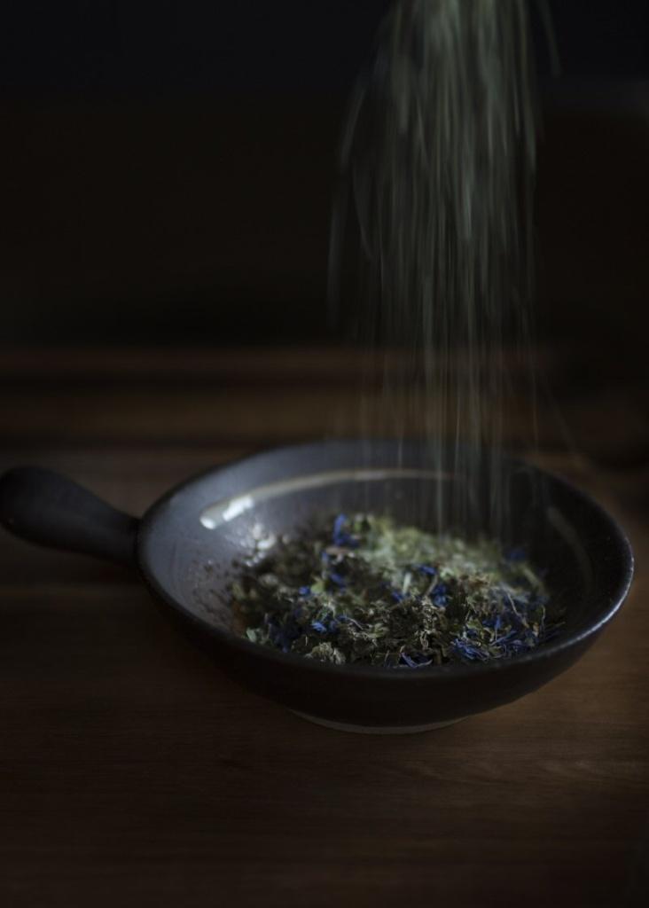 Meditation Herbal Tea Blend Recipe With Nettle Leaf