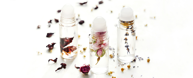 Floral Essential Oil Perfume Roll-On Recipes for Spring